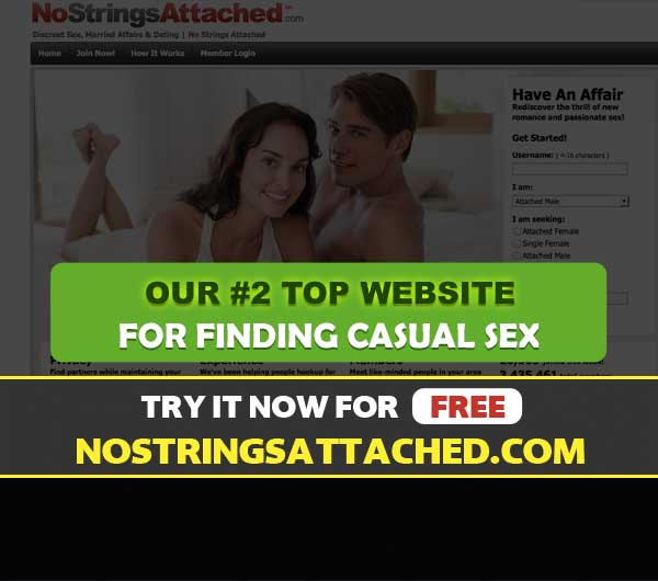 NoStringsAttached.com main page